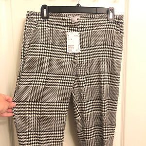 PLAID #GIRLBOSS PANTS